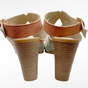 Seychelles Shoes - SEYCHELLES COMPLETELY ENGAGED SUEDE SANDALS SZ 9